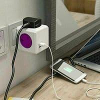 Allocacoc PowerCube PowerCube Rewireable USB Power Socket plus International Tra
